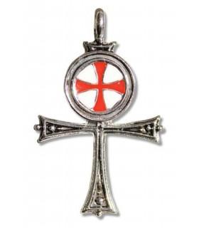 Colgante Templario Cruz Egipcia