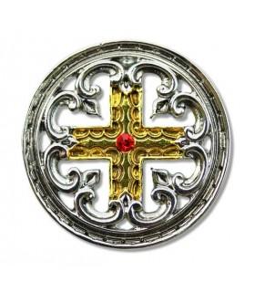 Colgante Templario Cruz Engrailed
