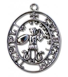 Colgante Templario El sello de Abraxas