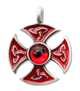 Colgante Templario Cruz de la consagración