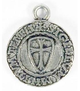 Colgante el sello Templario 1