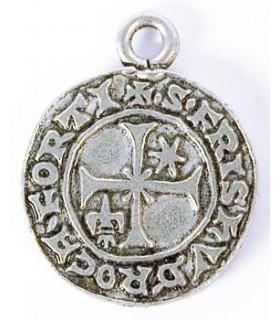 Colgante el sello Templario 3