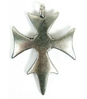 Colgante Cruz Templaria 3