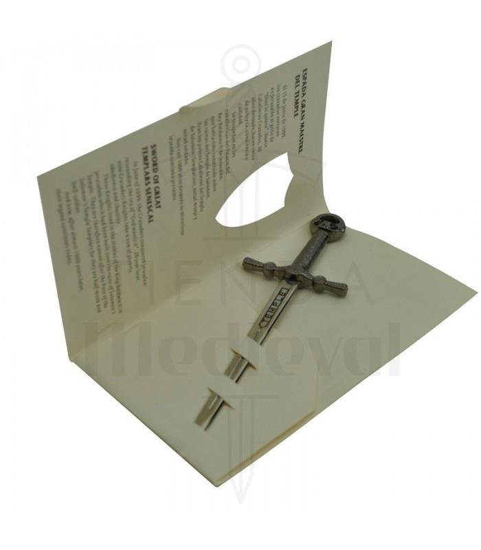 Miniatura Espada templaria