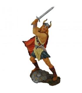 Guerrero vikingo con espada