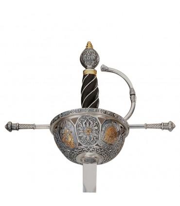 Espada Cazoleta Española siglo XVI
