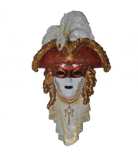 Máscara veneciana tricornio