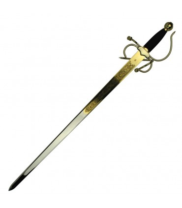 Espada Colada Cid, dorada