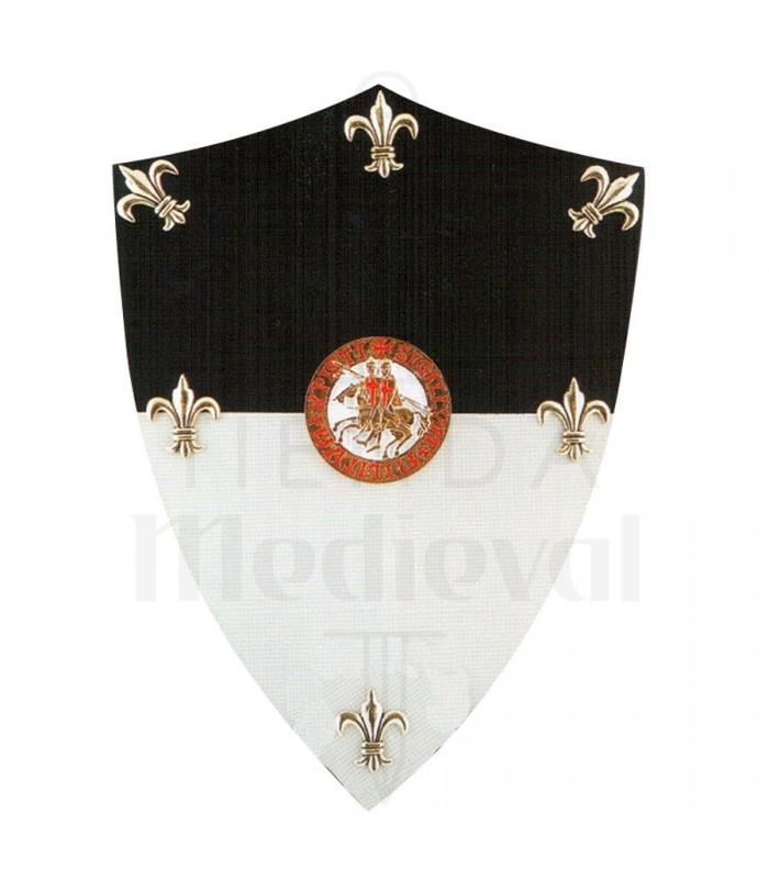Miniescudo Templarios