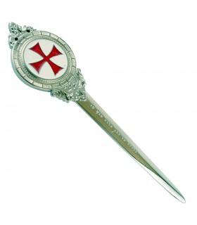Abrecartas Cruz Templaria