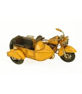 Miniatura sidecar amarillo