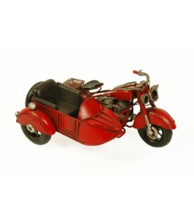 Miniatura sidecar rojo