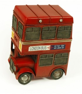 Miniatura autobús antiguo London