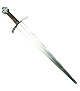 Leaved Schwert, eine Hand