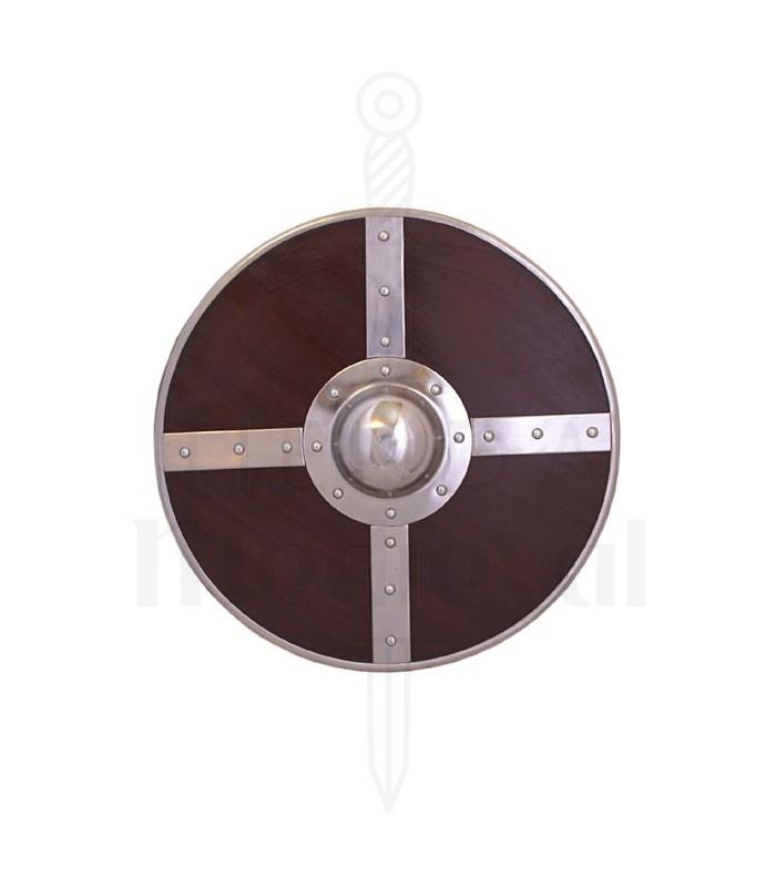 Escudo vikingo madera, 56 cms.