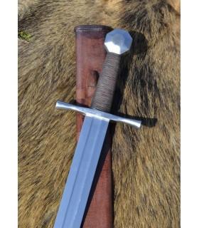 Espada Cruzados pomo octogonal, con vaina