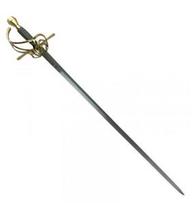 Espada Rapiera, siglo XVII