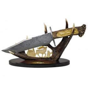 Cuchillo decorativo Ciervos