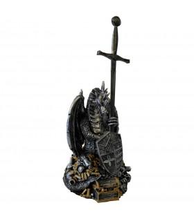 Espada Excálibur con dragón
