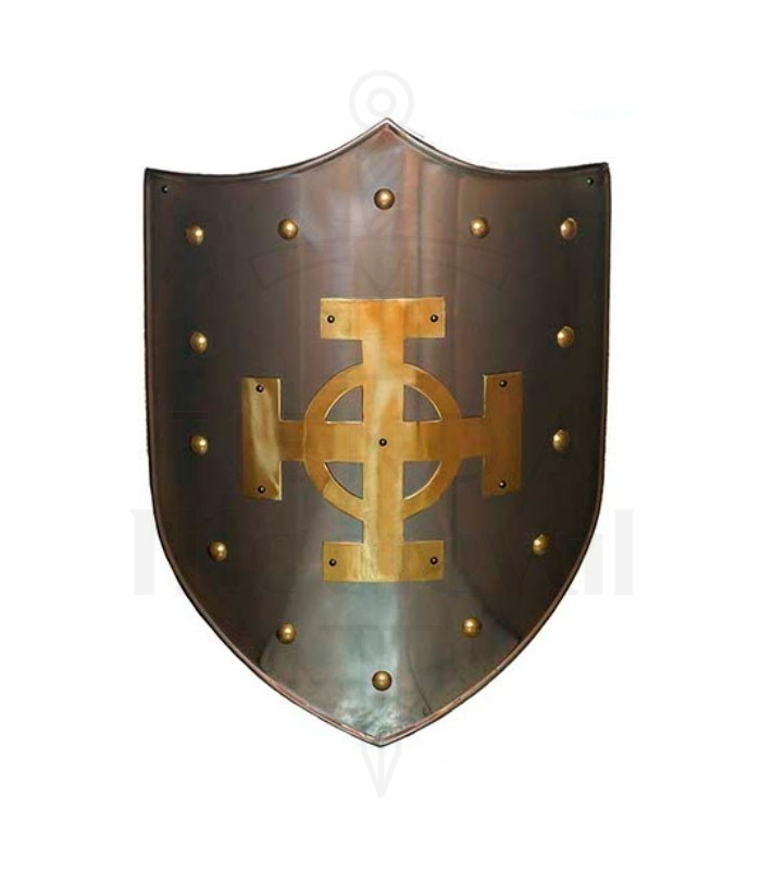 Escudo Cruz Celta latonado
