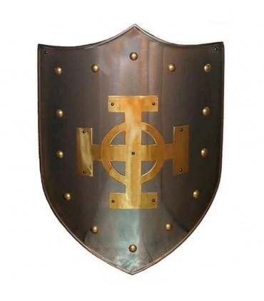 Escudo Cruz Celta latonada