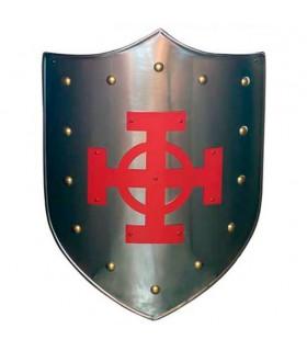 Keltisches Kreuz-Rot-Schild