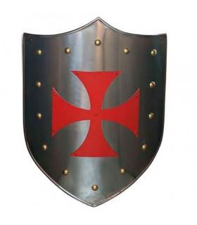 Rotes Kreuz Templar Schild