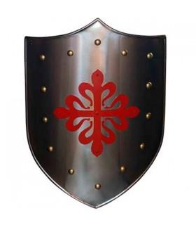 Escudo Cruz Calatravos Roja