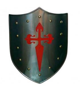 Rotes Kreuz Schild Santiaguista