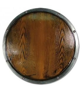 Escudo vikingo funcional de látex