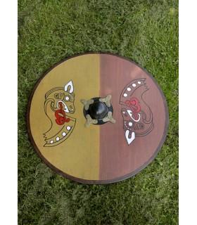 Escudo Vikingo madera