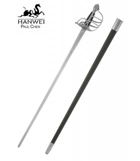 Espada puño mortuoria para prácticas