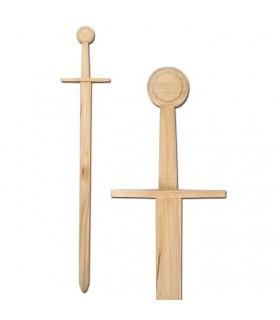 Espada medieval de madera