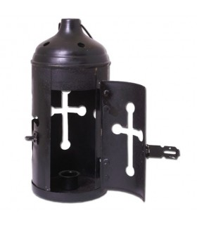 Linterna medieval para velas