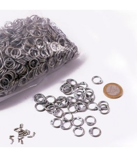verzinktem Netztasche Ringhöhe 9 mm.