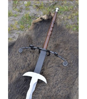 Espada 2 manos flamígera, 147 cms.