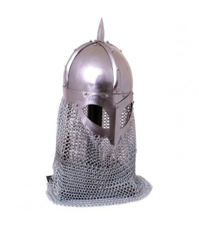 Casco vikingo funcional, 2 mm.