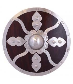 Escudo vikingo madera y acero