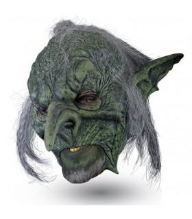 Máscara duende con pelo