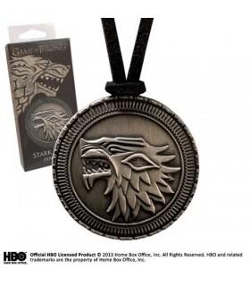 Colgante Escudo Stark, Juego de Tronos
