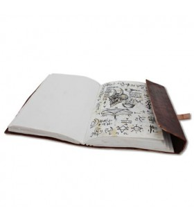 Diario con tapas de cuero