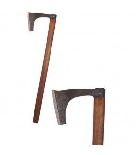 Hacha Vikinga barbada, 81 cms.