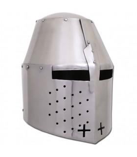 Casco medieval inglés Pembridge, año 1370