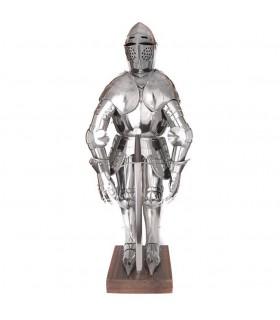 Armadura medieval miniatura, 71 cms.