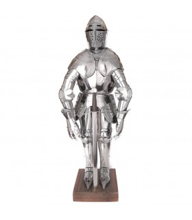 Miniatur mittelalterliche Rüstung, 71 cm.