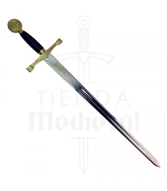 Espada Excalibur latonada, Cadete