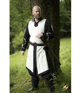 Renaissance, grün-weißes Hemd Soldat