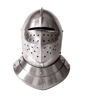 Englisch mittelalterlichen Helm, s. XVI