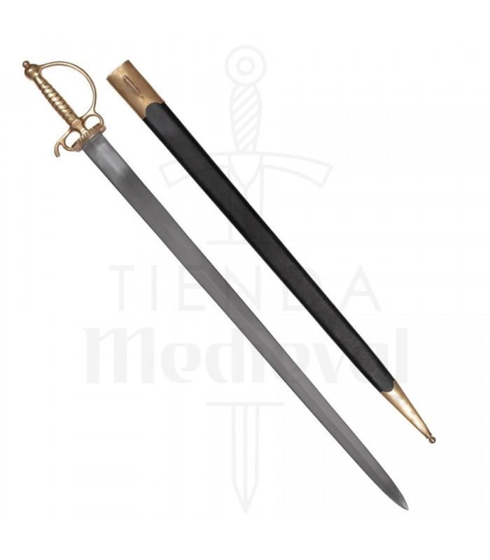 Espada Europea corta, siglo XVIII