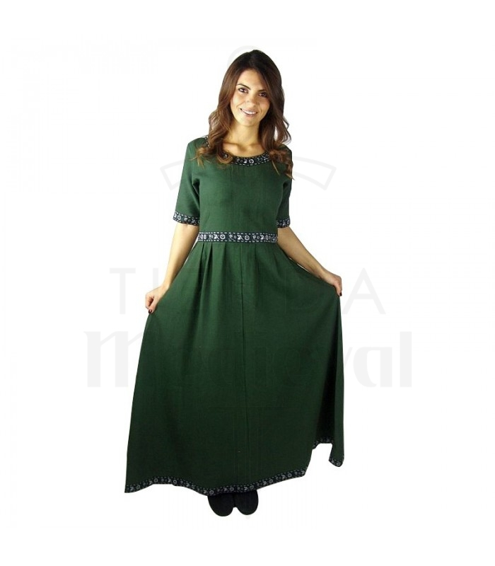 Enin mittelalterlichen Kleid Frau. Mittelalter-Kostüme - Frauen Suits